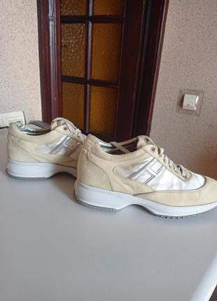 Hogan by karl lagerfeld сникерсы кожаные кроссовки оригинал