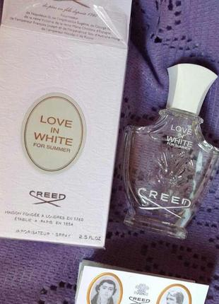 Love in white of summer creed 5 ml eau de parfum парфюмированная вода