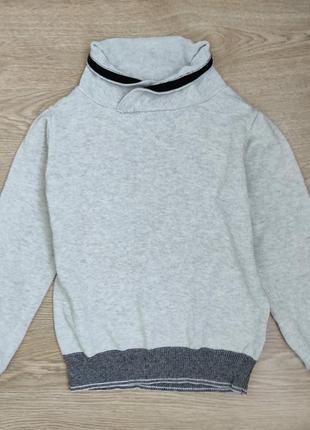 Классный трикотажный свитер с хомутом, ovs,104/110р.