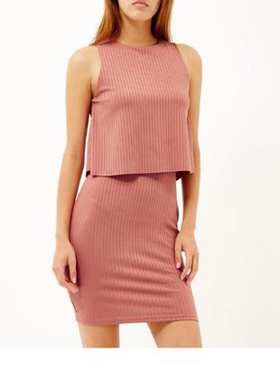 Шикарное платье в рубчик, новое с биркой. очень много вещей в наличии+скидки, заходите!
