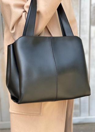 Стильная сумка с эко-кожи