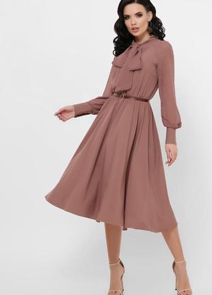 1838.     бежевое вечернее платье