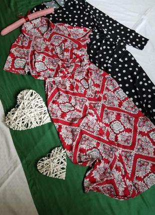 Стильное платье рубашка в принт nutmeg ❤ длина миди, по бокам небольши
