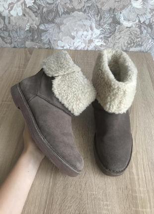 Clarks 40- 41 р черевики чоботи ботинки сапоги угги.
