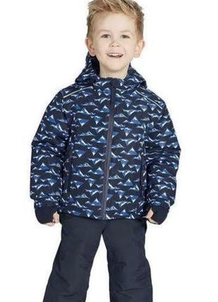 Функциональная  лыжная курточка на мальчика crivit.
