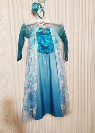 Платье эльзы дисней холодное сердце принцессы