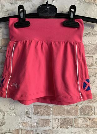 Спортивные шорты плюс юбка розовые