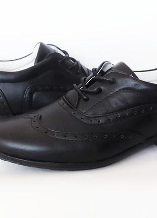 Школьные туфли броги b&g. супинатор. 32-37 размеры