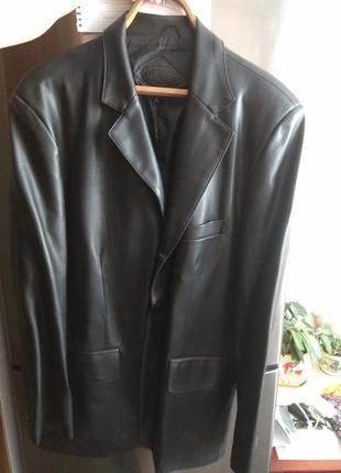Пиджак мужской кожзам l размер