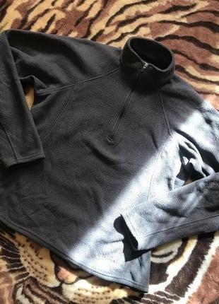 Крутейшая флиска (флисовая кофта) от patagonia capilene jacket 1/4 zip black fleece