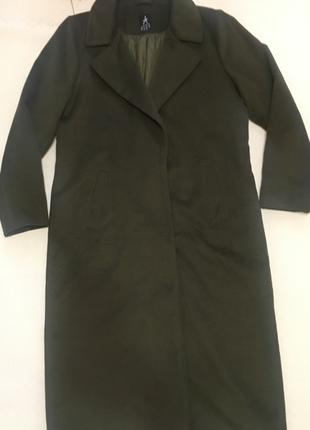 Пальто длинное 4хл-5хл см. замер