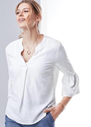 Льняная блузка tcm tchibo