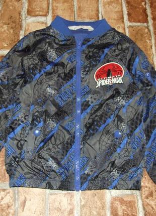 Куртка ветровка мальчику 3 - 4 года h&m марвел