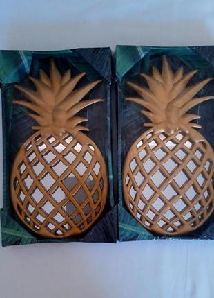 Декоративные зеркала в виде ананаса. германия