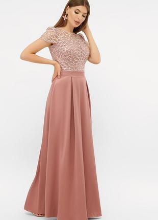 Вечернее нарядное шикартное платье на мероприятие копоратив день рождения свадьбу