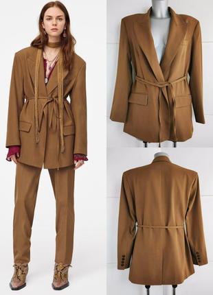 Новый пиджак zara из лимитированной коллекции1 фото