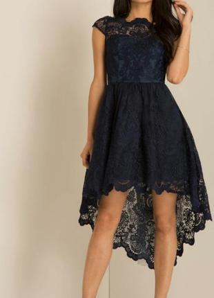 Шикарное брендовое вечернее платье