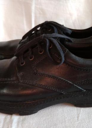 Продам кожаные туфли clarks, 43-43,5 (размер 9,5)