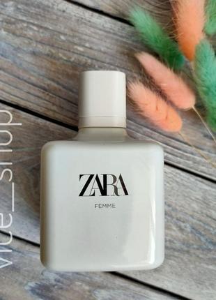 Zara femme духи парфюмерия туалетная вода оригинал испания