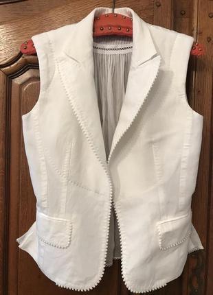 Жилетка,блузка