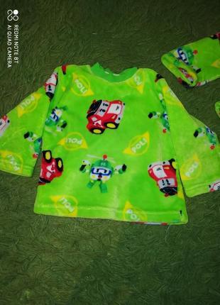 Пижама новая  робокар поли