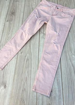 Стильные актуальные штаны брюки джинсы h&m zara mango тренд