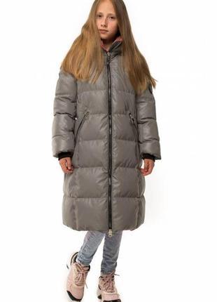 Модная куртка ,пуховик,светоотражающий, люкс качество, размер 146.