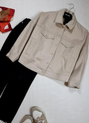 Новая куртка, обьемный жакет, пиджак, оверсайз, m-xl