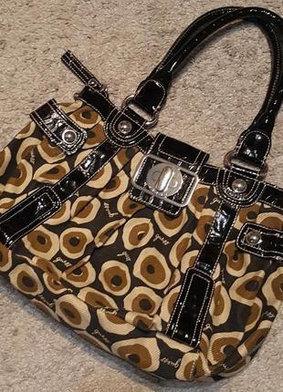 Оригинал.шикарная,фирменная,стильная,вместительная сумка от guess
