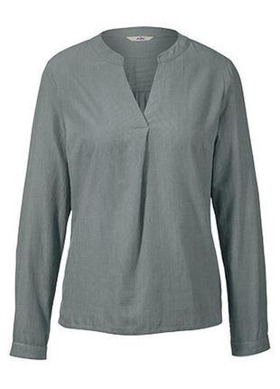 Хлопковая рубашка в полоску tcm tchibo