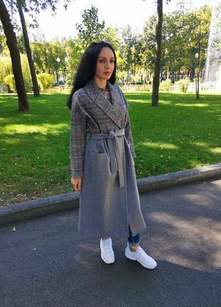 Модное осенее пальто