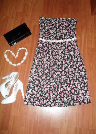Платье в цветочек dorothy perkins