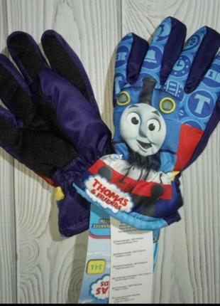 Перчатки краги паровозик томас