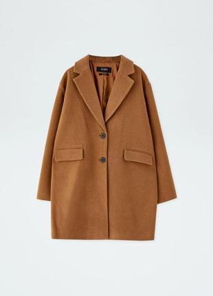 Пальто оверсайз демисезонное пальто pull&bear