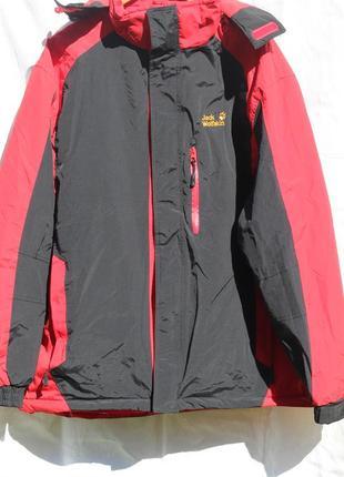 Легкая куртка на тонком синтепоне jack wolfskin