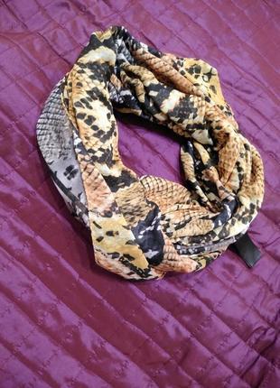 Двох сторонній шарф хомут