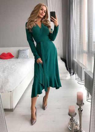 Платье на запах, женское платье, платье купить