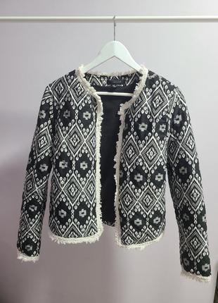 Пиджак жакет теплый кофта