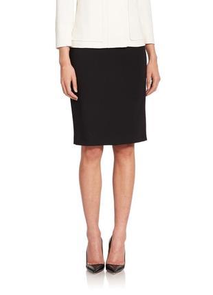 Офисная прямая юбка-карандаш gap 10-12 размер