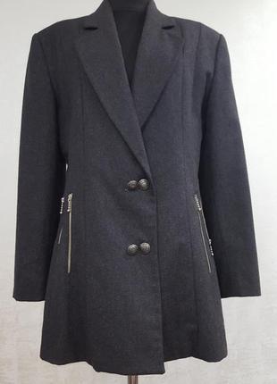 Roccobarocco шерстяной  пиджак-френч