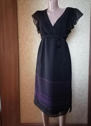 Платье шифон, сукня