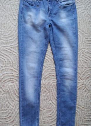 Женские джинсы зауженного кроя naf naf. размер - 40 (eu)