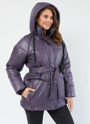 Зимняя свободная куртка по летней скидке до 15-09-20! пуховик - дутик