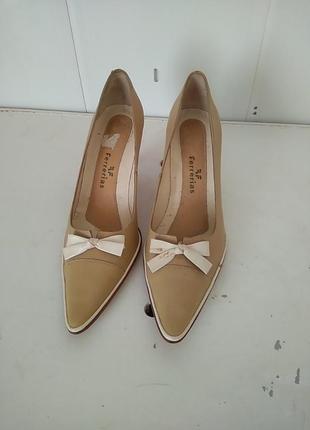 Туфлі шкіряні 36 розмірпо ст 25,5 см