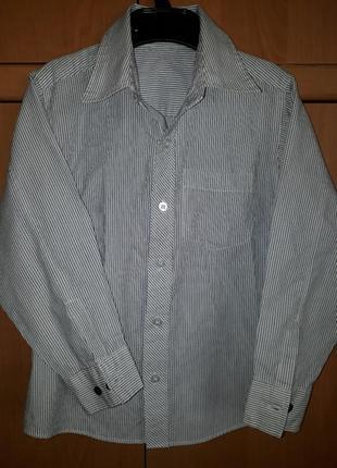 Рубашка на мальчика 4-5 лет