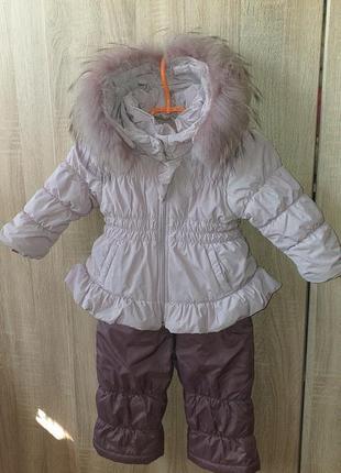 Зимний комбинезон (костюм) для девочки wojcik
