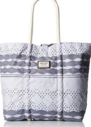 Большая стильная тканевая сумка burton