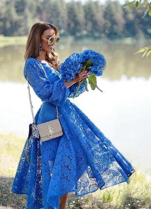 Платье amari миди в стиле zimmermann