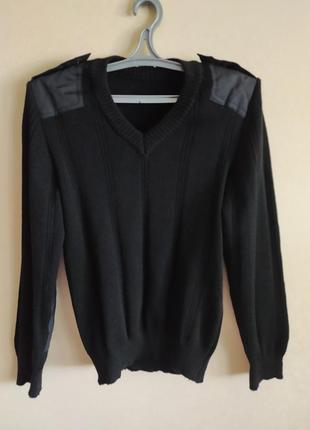 Форменный свитер р.44