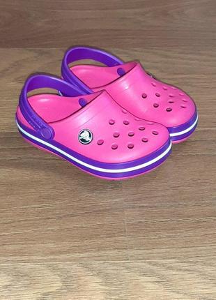 Кроксы   crocs  с10 оригинал как нов.